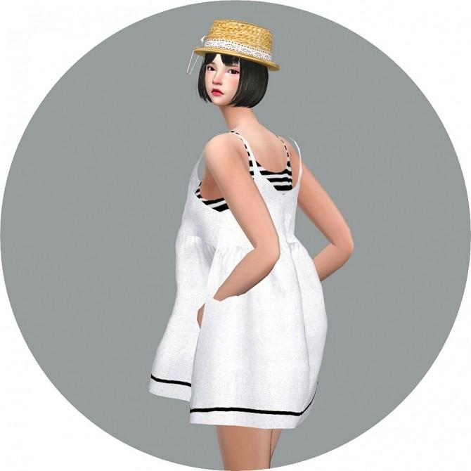 Loosefit Mari Dress at Marigold image 2142 670x670 Sims 4 Updates