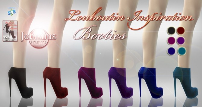 Sims 4 High heels and boots at Jomsims Creations