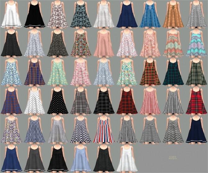 Loosefit Mari Dress at Marigold image 2152 670x560 Sims 4 Updates