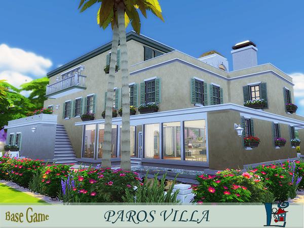 Paros Villa by evi at TSR image 2160 Sims 4 Updates