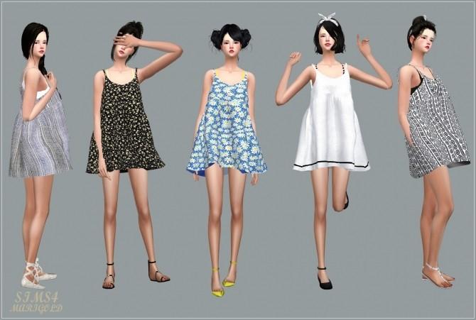 Loosefit Mari Dress at Marigold image 2162 670x451 Sims 4 Updates