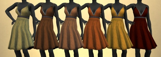 KitOnlyHumans Simple Valentine Dress recolors 1.0 by The Paper Sim at SimsWorkshop image 2181 670x240 Sims 4 Updates