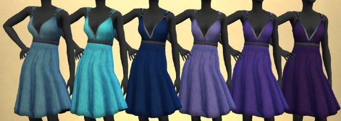 KitOnlyHumans Simple Valentine Dress recolors 1.0 by The Paper Sim at SimsWorkshop image 2201 670x238 Sims 4 Updates