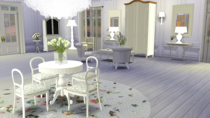 Shabby Chic Set At Meinkatz Creations 187 Sims 4 Updates