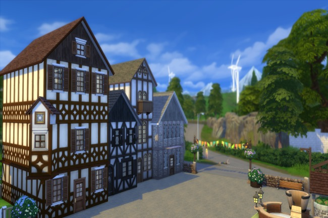 Altstadt lot by Commari at Blacky's Sims Zoo image 2224 Sims 4 Updates