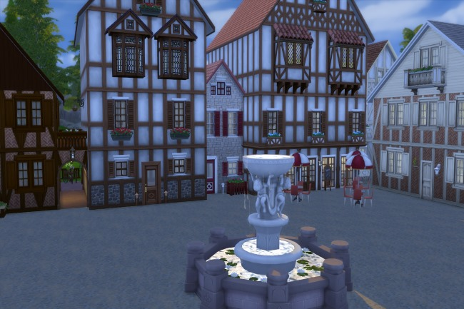 Altstadt lot by Commari at Blacky's Sims Zoo image 2234 Sims 4 Updates