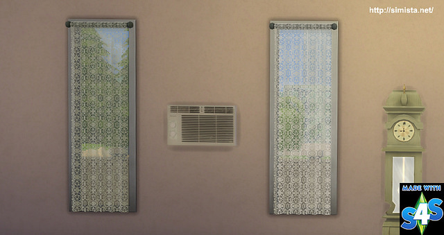 Lace Curtains at Simista image 2235 Sims 4 Updates