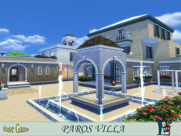 Paros Villa by evi at TSR image 2239 Sims 4 Updates