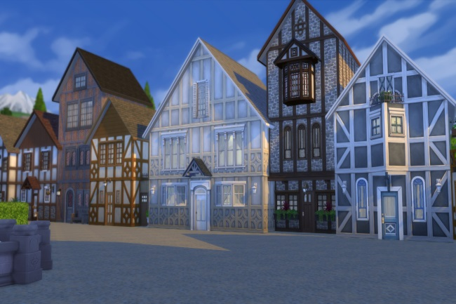 Altstadt lot by Commari at Blacky's Sims Zoo image 2244 Sims 4 Updates