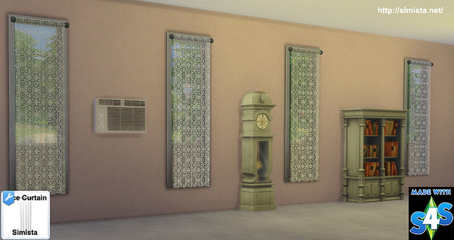 Lace Curtains at Simista image 2245 Sims 4 Updates