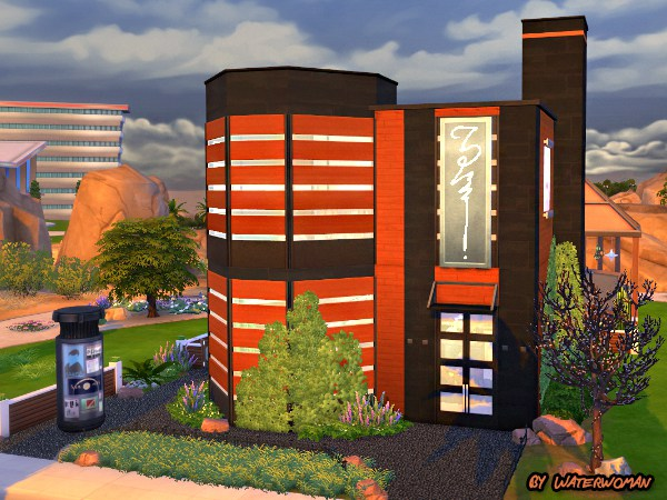 Sims 4 Coffee Bean lot by Waterwoman at Akisima
