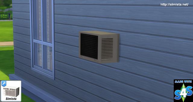 Sims 4 Air Conditioner Deco at Simista