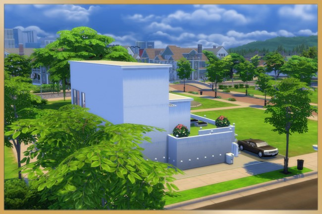 Modern Step house by Schnattchen at Blacky's Sims Zoo image 2284 Sims 4 Updates