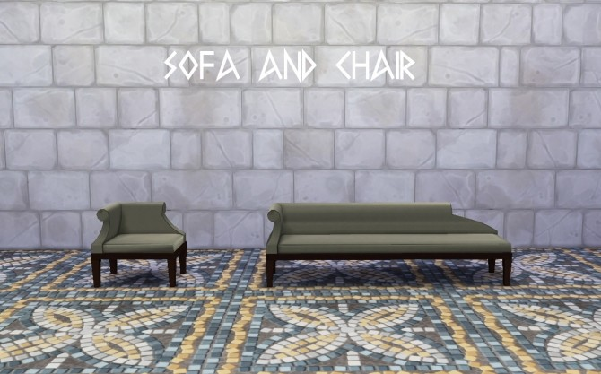Ancient Greece Living Room Set At Historical Sims Life