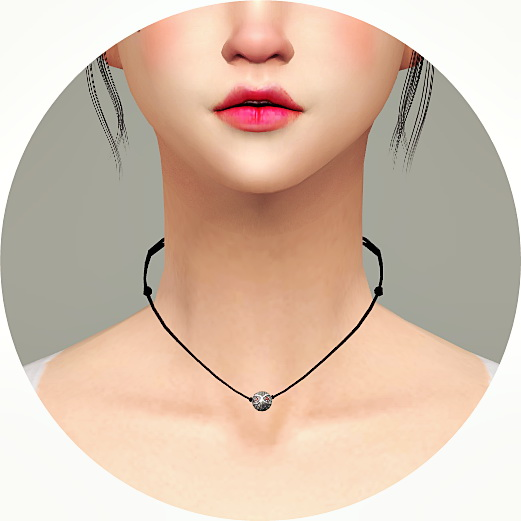Sims 4 Simple Necklace v3 Round Bead at Marigold