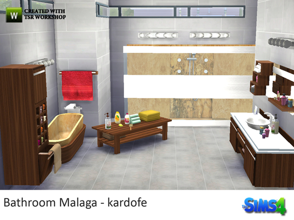 Bathroom Malaga by kardofe at TSR image 2312 Sims 4 Updates