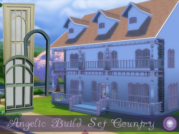 Angelic Build Set in Country Colors by D2Diamond at TSR image 2320 Sims 4 Updates