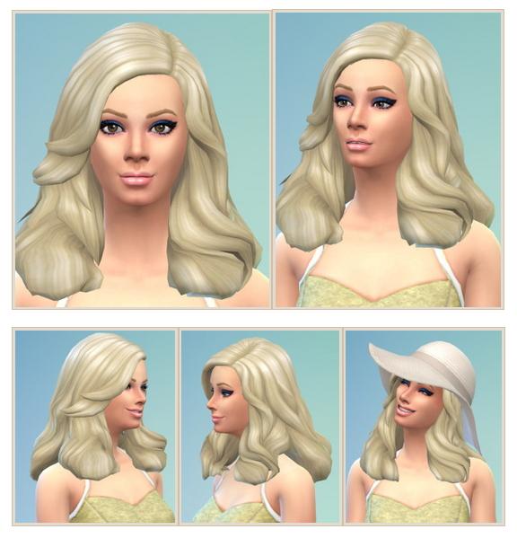 Belle de Jour Hair at Birksches Sims Blog image 23411 Sims 4 Updates