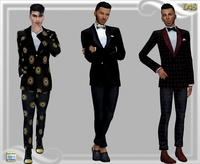 Mens Jacket And Pants At Dreaming 4 Sims 187 Sims 4 Updates
