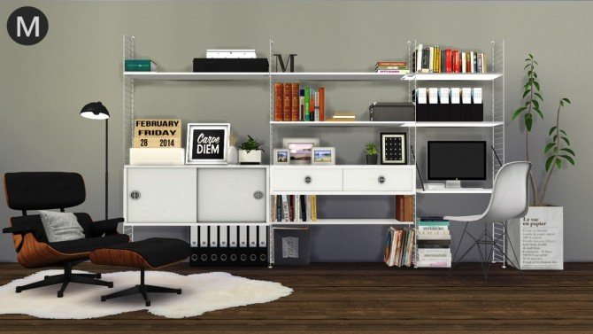 3t4 String Shelf System at Maximss image 2361 670x377 Sims 4 Updates