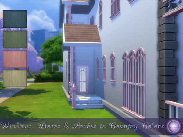 Angelic Build Set in Country Colors by D2Diamond at TSR image 2417 Sims 4 Updates