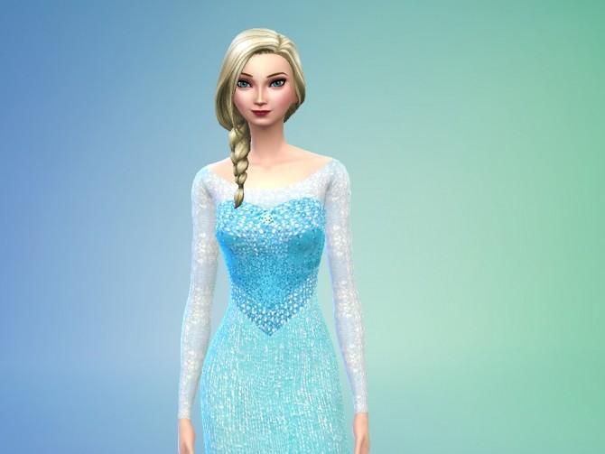 Elsa From Frozen By Niharika Basu At Mod The Sims 187 Sims 4