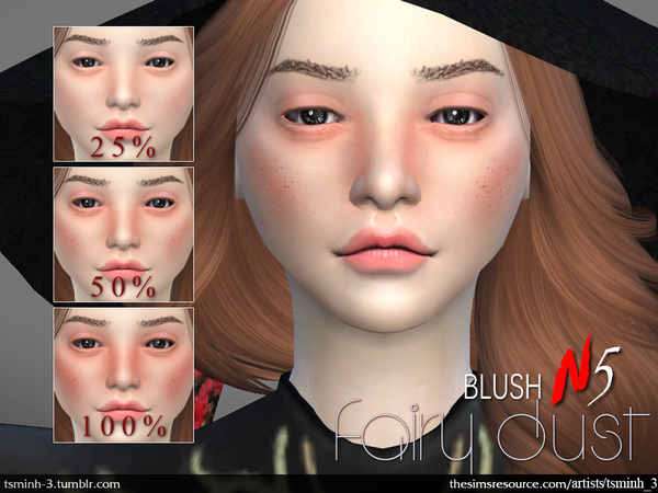 Fairy Dust Blush by tsminh 3 at TSR image 2439 Sims 4 Updates