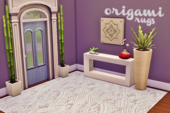 Origami Rugs at Hamburger Cakes image 2474 670x447 Sims 4 Updates