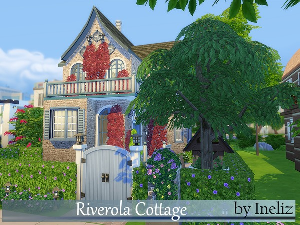 Riverola Cottage by Ineliz at TSR image 2530 Sims 4 Updates