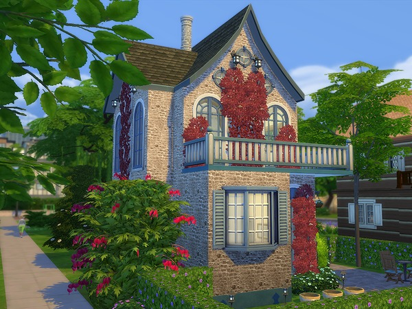 Sims 4 Riverola Cottage by Ineliz at TSR