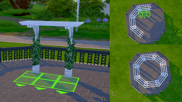 How to create an awesome patio at the sims news sims 4 for Awesome sims