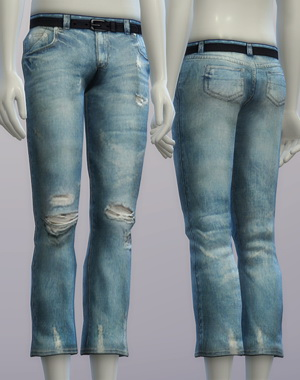 Vintage jeans #2 male at Rusty Nail image 2636 Sims 4 Updates