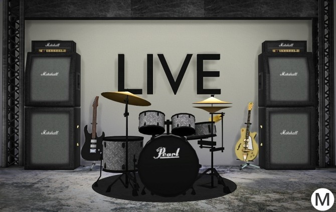 3t4 Pearl Roadshow RS525SC/C91 Drum Kit at Maximss image 264 670x423 Sims 4 Updates