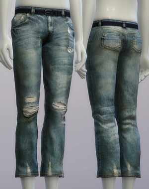 Vintage jeans #2 male at Rusty Nail image 2645 Sims 4 Updates