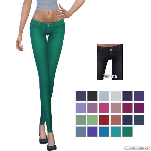 Skinny Jeans Collection at Simista image 265 Sims 4 Updates