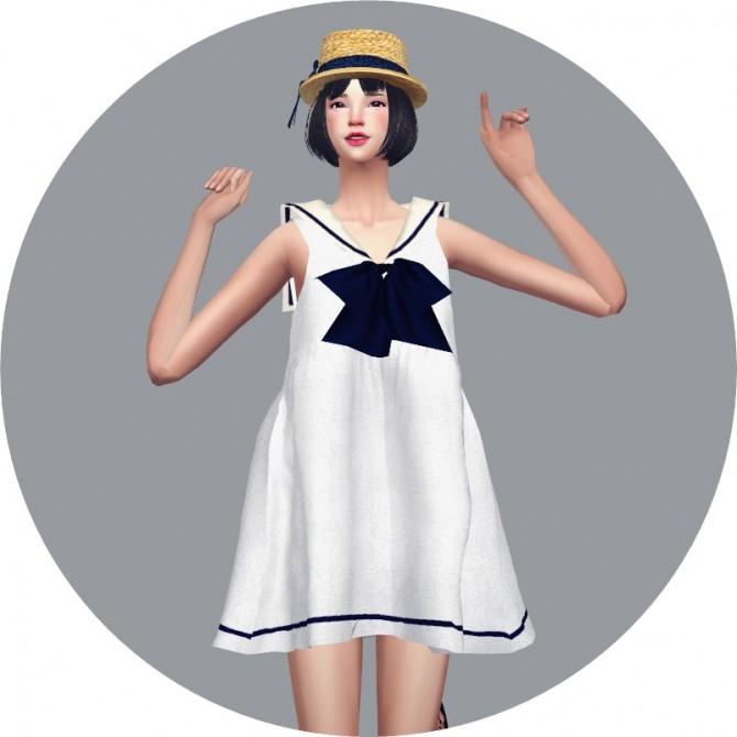 Sailor Dress at Marigold image 2652 670x670 Sims 4 Updates