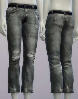 Vintage jeans #2 male at Rusty Nail image 2655 Sims 4 Updates