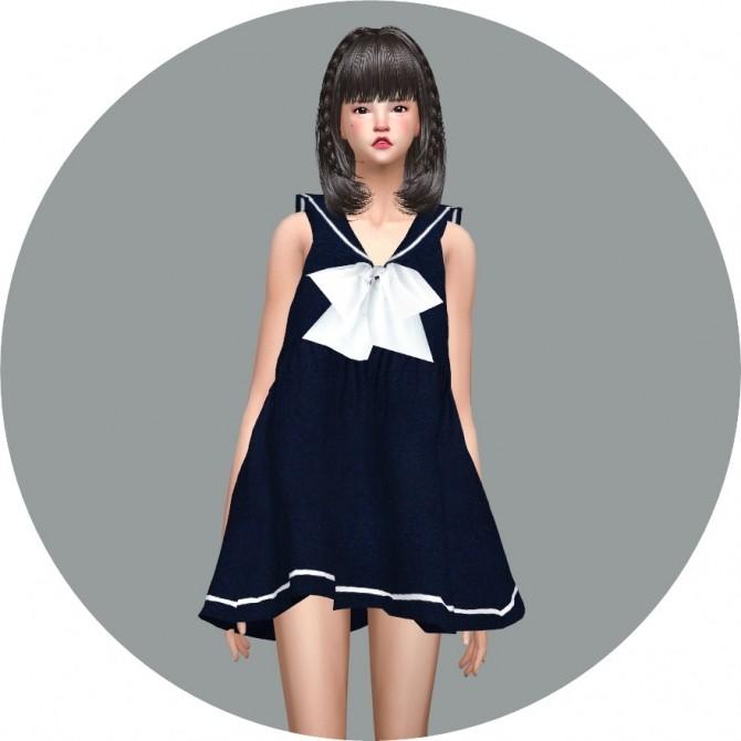 Sailor Dress at Marigold image 2661 670x670 Sims 4 Updates