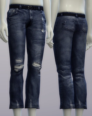 Vintage jeans #2 male at Rusty Nail image 2663 Sims 4 Updates