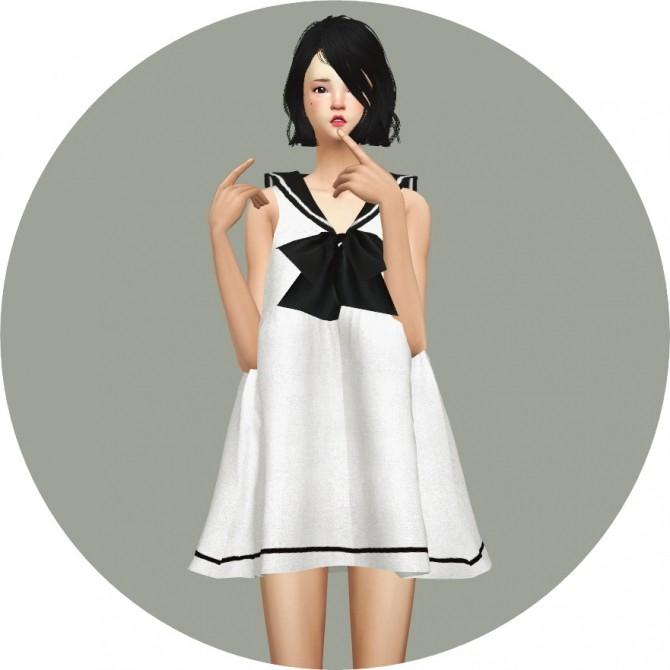 Sailor Dress at Marigold image 2672 670x670 Sims 4 Updates