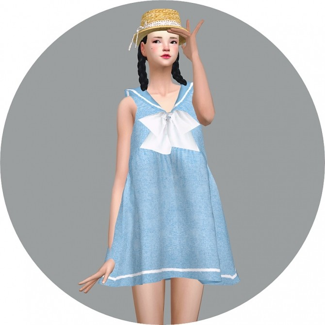 Sailor Dress at Marigold image 2682 670x670 Sims 4 Updates