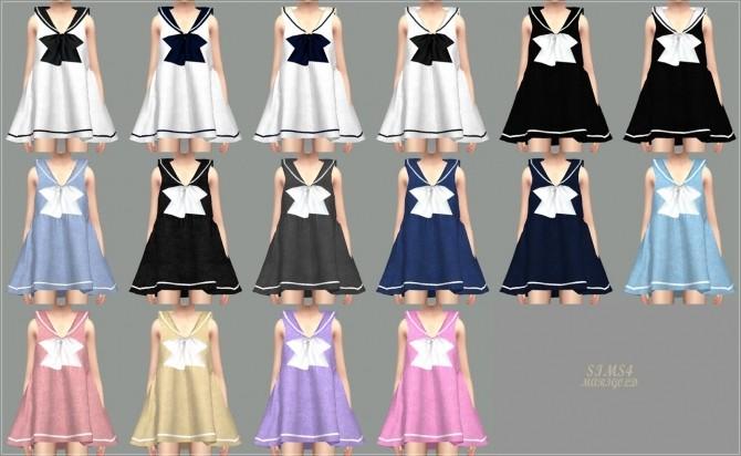 Sims 4 Sailor Dress at Marigold