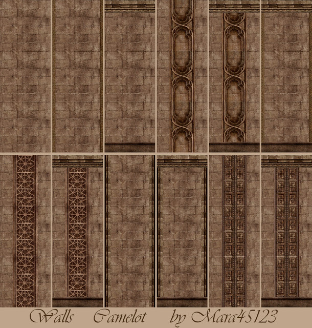 Camelot walls and floors at Mara45123 image 2693 Sims 4 Updates