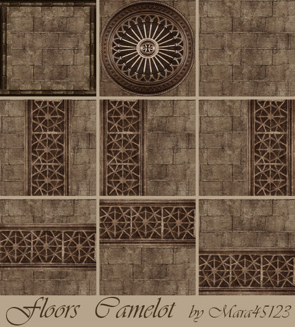 Camelot walls and floors at Mara45123 image 2703 Sims 4 Updates