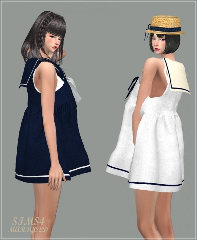 Sailor Dress at Marigold image 2712 670x819 Sims 4 Updates