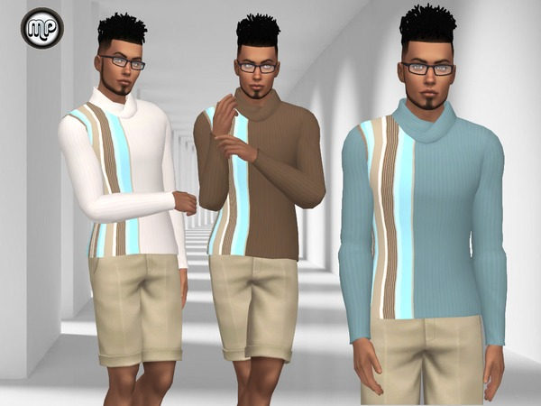 MP Simple Male Sweatshirt N1 at BTB Sims – MartyP image 2714 Sims 4 Updates