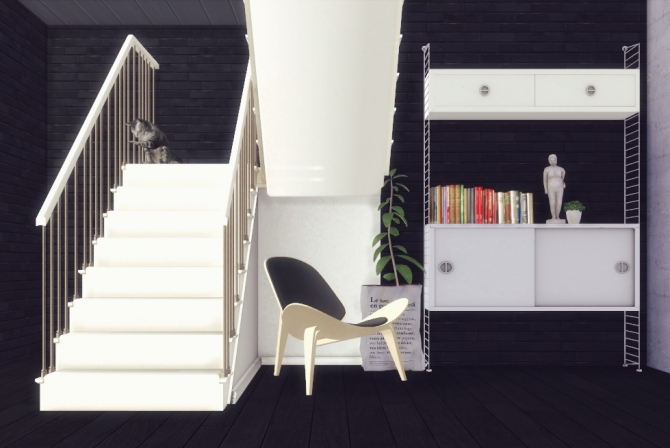 Ezmachinima Stairs Deco At Sanoy Sims 187 Sims 4 Updates