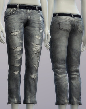 Sims 4 Vintage jeans #1 female at Rusty Nail