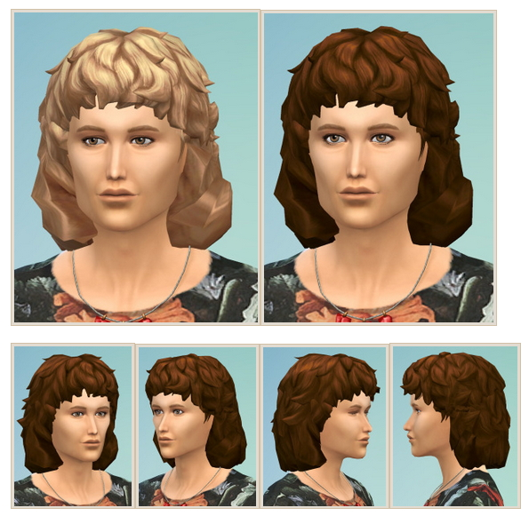 Sims 4 Hazelnut Hair Male at Birksches Sims Blog