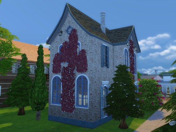 Riverola Cottage by Ineliz at TSR image 2728 Sims 4 Updates